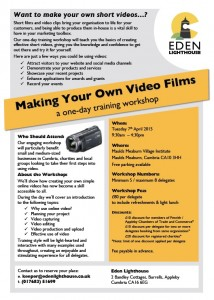 Video training - how to make your own videos
