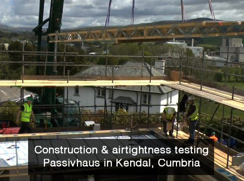 Eden Insulation Kendal Passivhaus - video by Eden Lighthouse