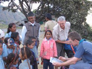 Nigel Jenkins Eden Lighthouse in Nepal